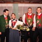 Karin Hanny Walcher geehrt für 15 Jahre Schriftführerin