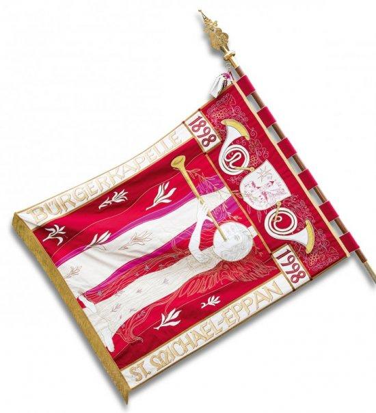 Vereinsfahne Seite rot
