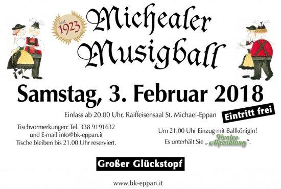 Michealer Musigball 2018